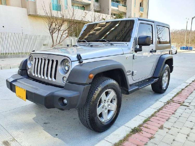 Jeep wrangler sport automatico 4x4 modelo 2016 oportunidad