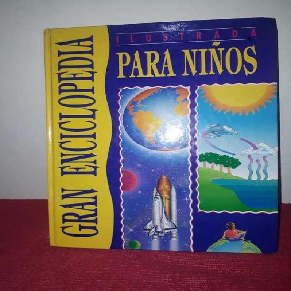 Libro gran enciclopedia para niños