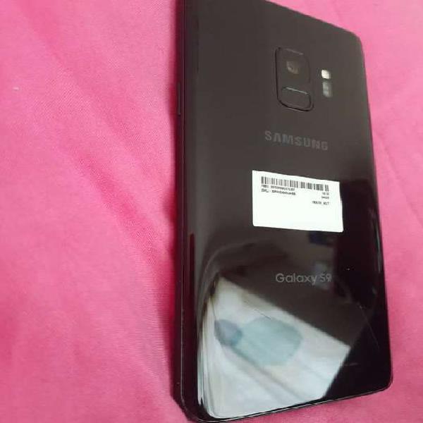 Samsung s9 color negro 1 año de uso