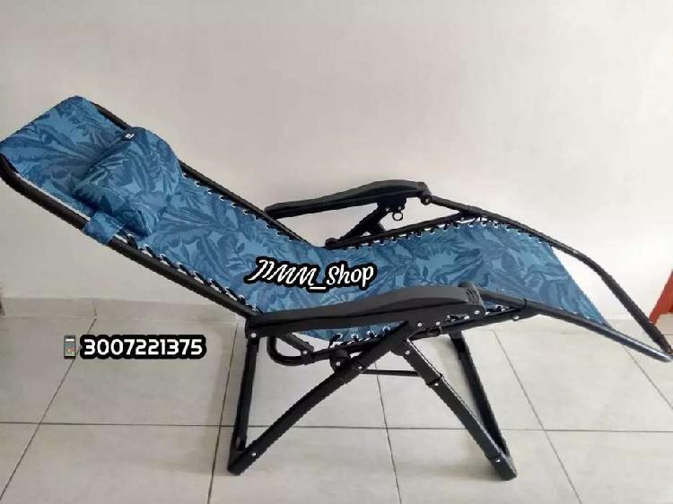 Silla reclinable plegable