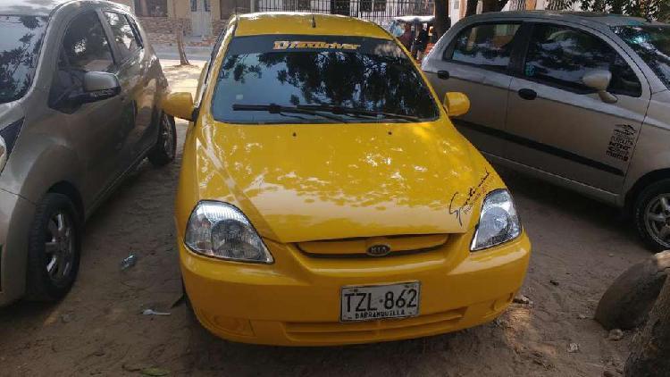Vendo taxi kia rio stylus 2013 con cupo barranquilla