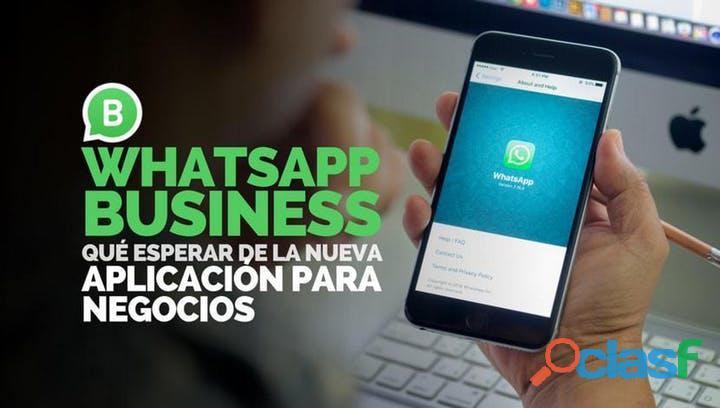 Aprende a vender con whatsapp business