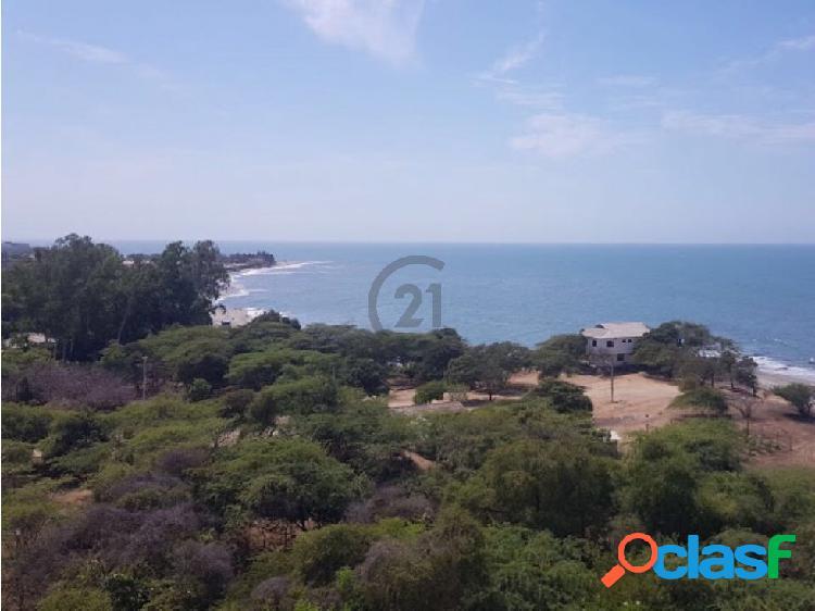 Lote 1.040 mt2 frente al mar, para proyecto inmobiliario, b.horizonte