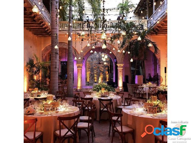 Casa para bodas en el centro historico cartagena