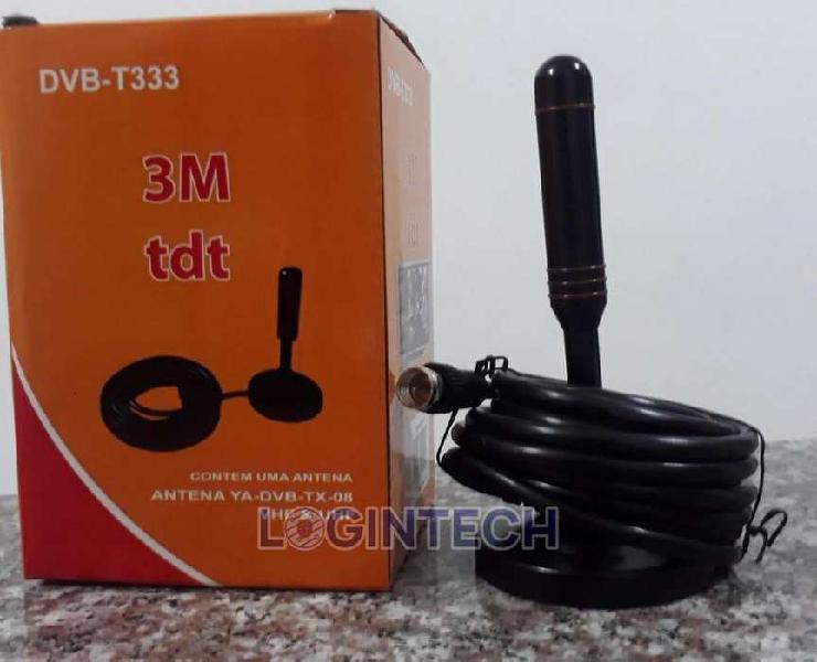 Antena tdt de gran alcance con 3 metros televisión digital