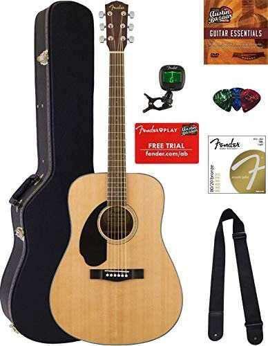 Combo guitarra acustica marca fender -full