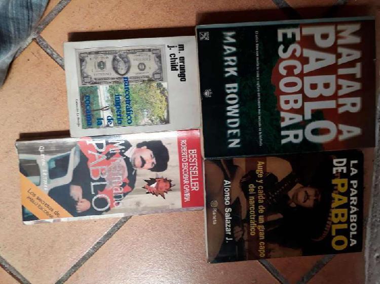 Libros de narcos pablo escobar