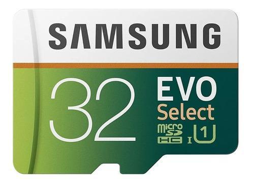 Memoria Samsung Evo Select 32gb Microsd C10 U1 4k 95mb/s