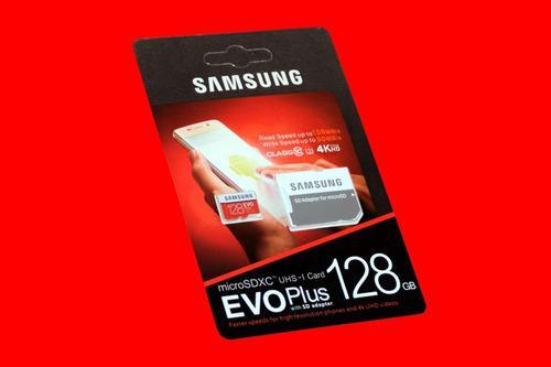 Micro Sd Samsung Evo Plus 128 Gb 100mb/s Clase 10 Memoria 4k