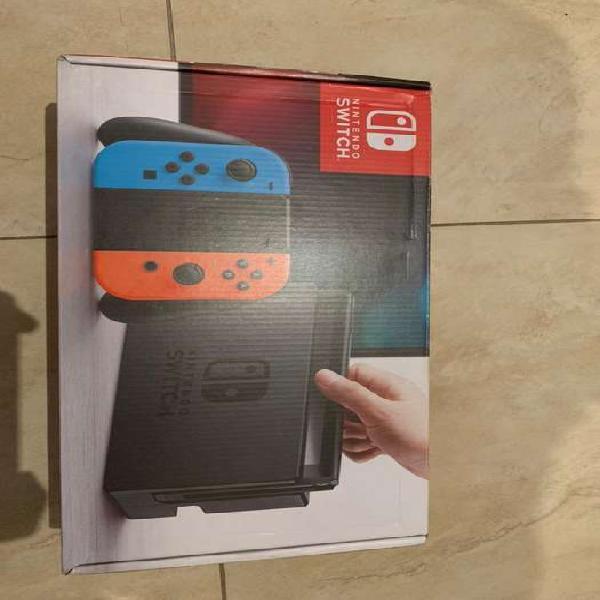 Nintendo switch usada