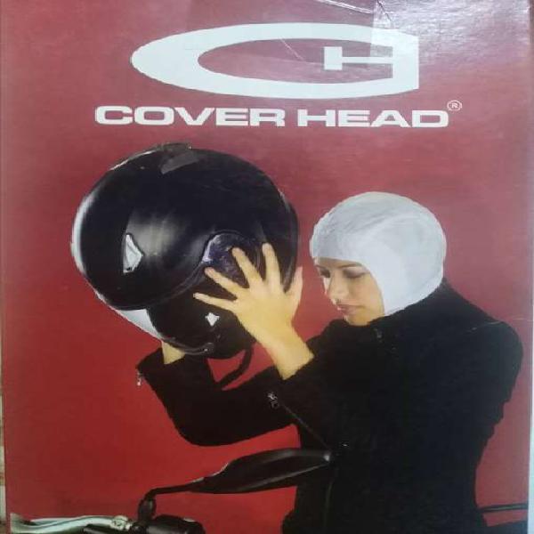 Protector para usuarios de cascos de motocicleta