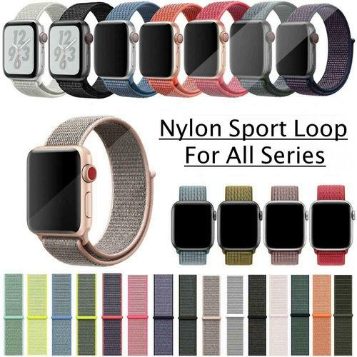 Pulso Correa Apple Watch Sport Loop Nylon 38/40 42/44