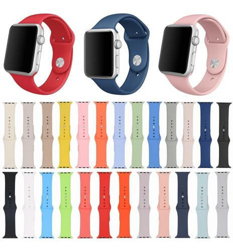 Pulso Correa Manilla Para Apple Watch Silicona 38/40mm