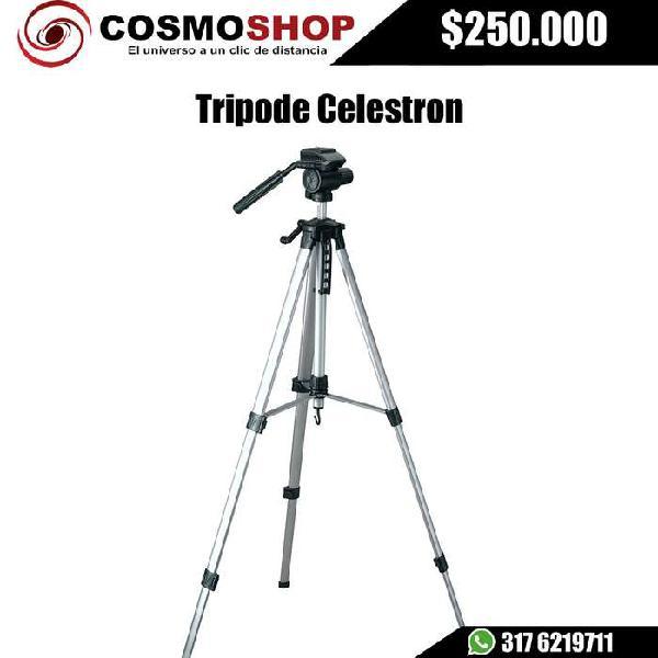 Tripode celestron para binoculares y camaras