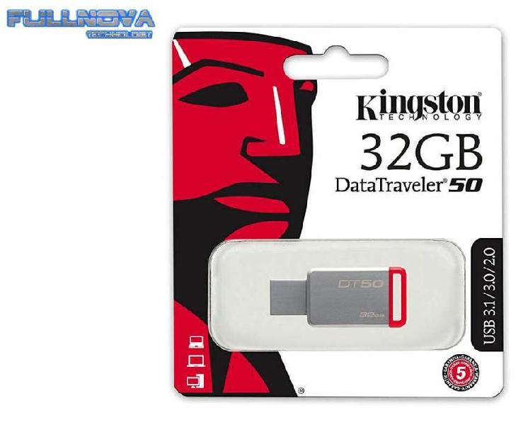 Usb kingston de 32gb - compatible con usb 3.1 - 2.0 - nuevas