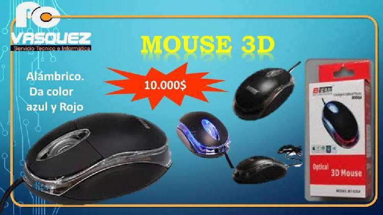 Venta de mouse 3d