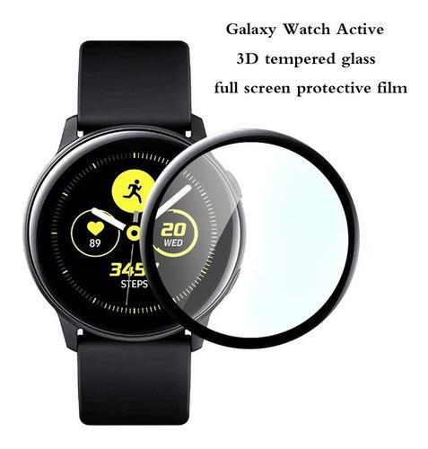Vidrio Templado X2 Samsung Galaxy Watch Active Envio-gratis