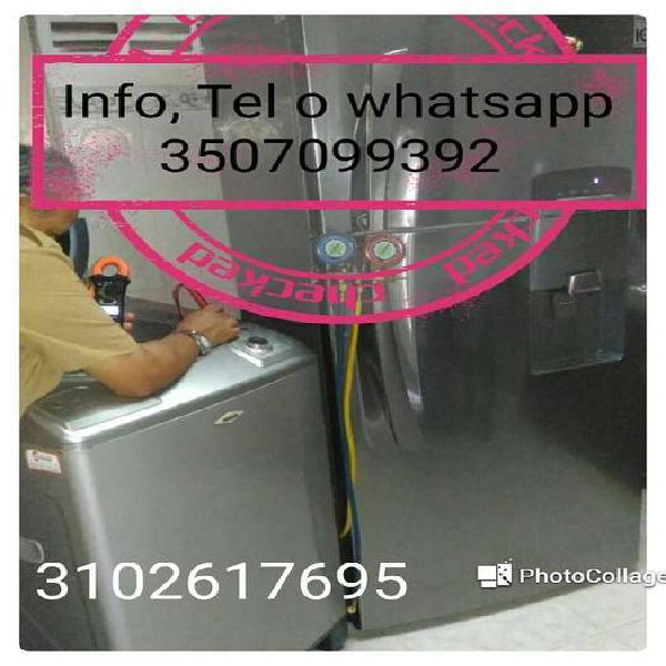 Reparacion de neveras y lavadoras en villavicencio
