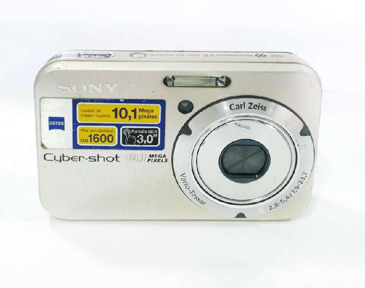 Camara sony dsc-n2 pantalla tactil 10.1 mp iso 1600 usada