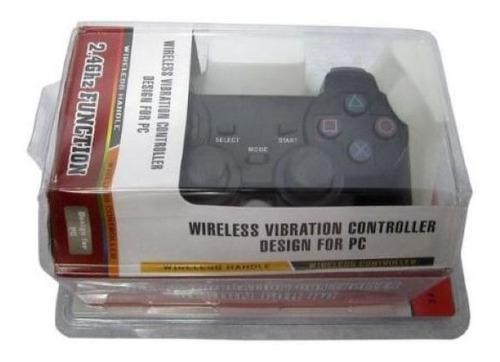 Control ps2, ps3, y pc, 3en1 inhalambrico wireless