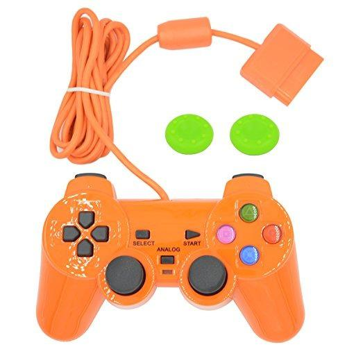 Controlador De Juegos Con Cable Para Ps2 Double Shockorange
