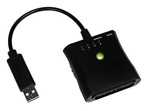 Mcbazel ps ps2 a xbox 360 controlador de pc adaptador usb ca