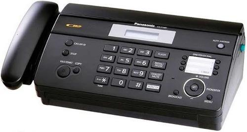 Panasonic Kx-ft981 Fax