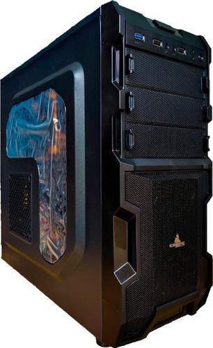 Pc Gamer: Ryzen 3400g 8 Thread, 8gb, 1tb, Rx Vega, Diseño