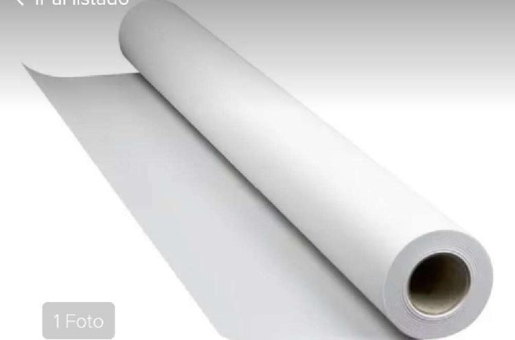 Rollos de papel calcio fast dry