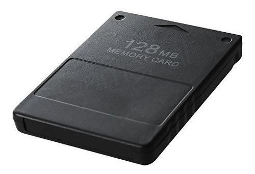 Tarjeta de memoria ps2 de 128 mb de alta velocidad para sony
