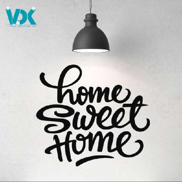 Vinilo decorativo pared home sweet home