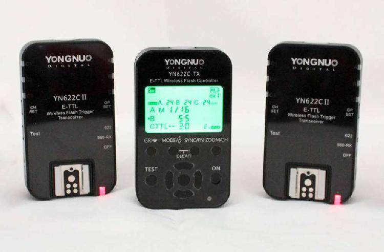 Yongnuo yn622c tx + yn622c ii
