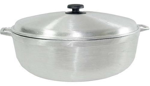 Caldero Arrocera Olla Perol 29 Cm Aluminio Alta Pureza # 10