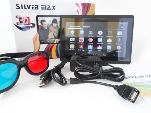 Tablet 7 Pulgadas Silvermax Con Gafas 3 D