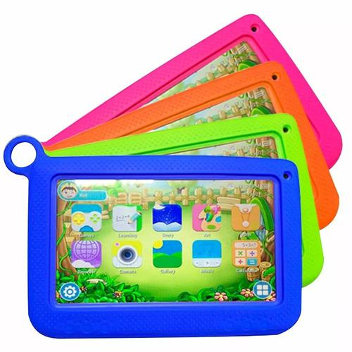 Tablet Krono Kids Niños Bluetooth Wifi Cámara 8gb