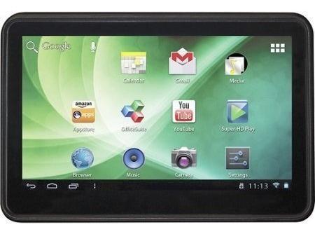 Tablet Trio Stealth 10,1 Pulgadas De 16 Gb Con Estuche And