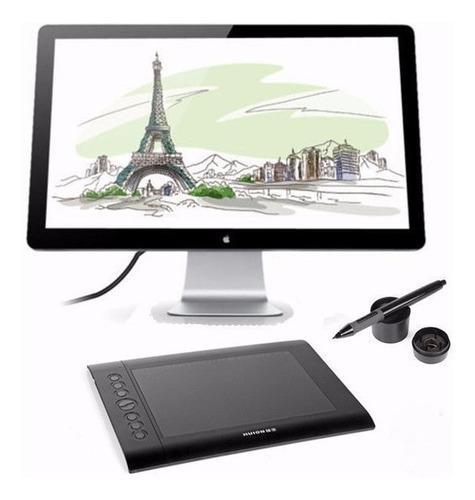Tableta Grafica Dibujo Graficos Huion H610n Pen