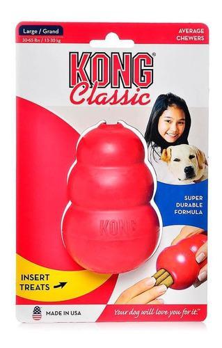 Juguete Mordible Kong Classic Para Perros Talla S
