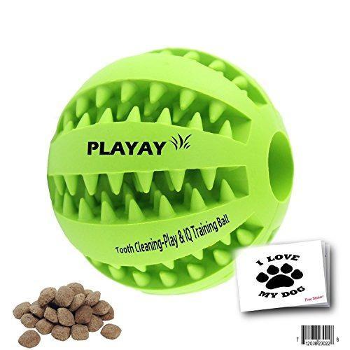 Juguete Para Perro Playay Pelota Interactiva Color: Verde