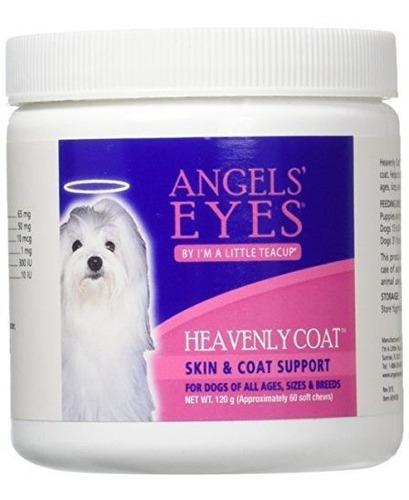 Angeles Ojos Escudo Celestial Suave Masticar Para Perros