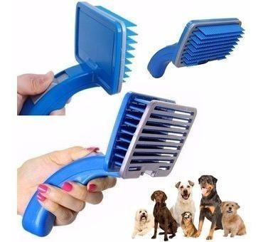 Cepillo Peinar Quita Pelo Automático Mascota Perro