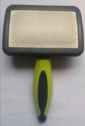 Cepillo Tipo Carda Para Perros De Cerda Metálica Lujo