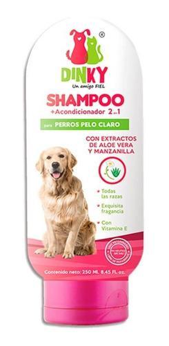 Dinky Shampoo Para Perros Pelo Claro