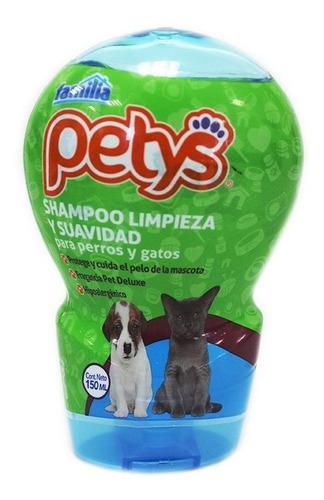 Shampoo Petys Limpiezay Suavidad Perros Y Gatos X 150ml