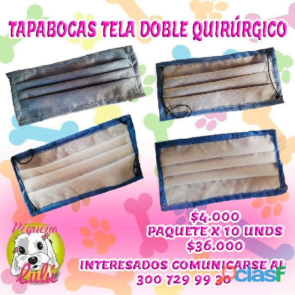Tapabocas quirurgico