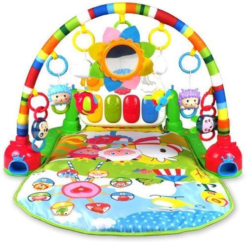 Gimnasio musical solo niña bebe piano juguete didáctico