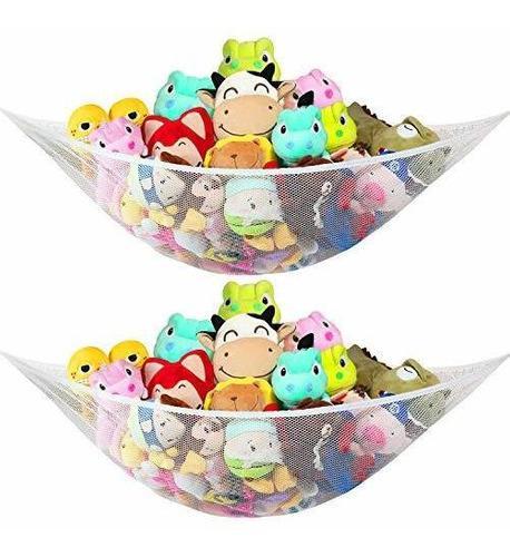Hamaca de juguete para animales de peluche y juguetes 2 pack