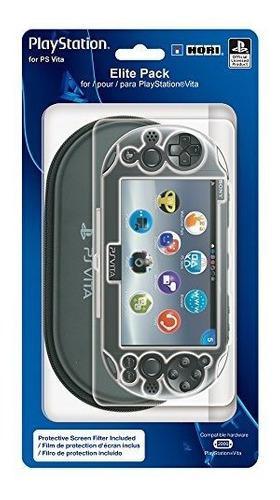 Hori elite pack kit protector para playstation vita 2000