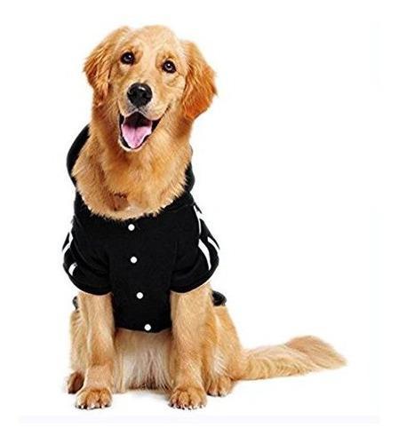 Mascota Leso Sudadera Para Perros Calida Con Capucha Ropa De
