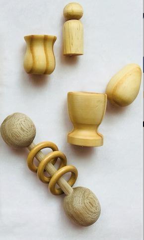 Montessori para bebé - kit de juguetes para bebe